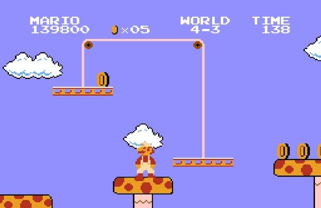 Die Entwickler bestimmen für Marios Weg zur Prinzessin vier Hindernis- und drei Gegnerkategorien - mehr braucht es nicht für ein Spiel, das nahezu perfekt ist.