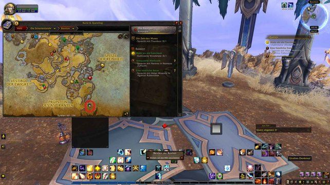 Das Einhorn Sonnentänzer dient als Flugmount in World of Warcraft: Shadowlands.