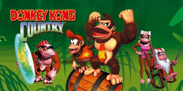Eine große Zeit für Jump and Runs: Donkey Kong Country für SNES sorgte für Furore.