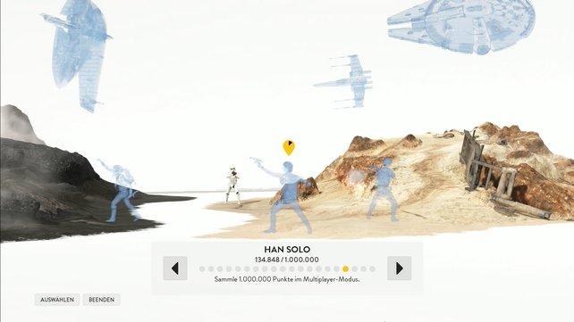 Für die Diorama-Figurne müsst ihr wirklich viele Stunden in Star Wars Battlefront verbringen