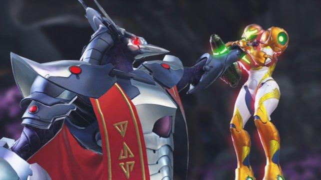 Metroid Dread startet damit, dass Samus im Kampf gegen einen mysteriösen Chozo-Krieger all ihre Kräfte verliert.