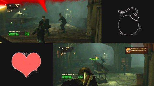 Uncharted 3 - Online mit Splitscreen
