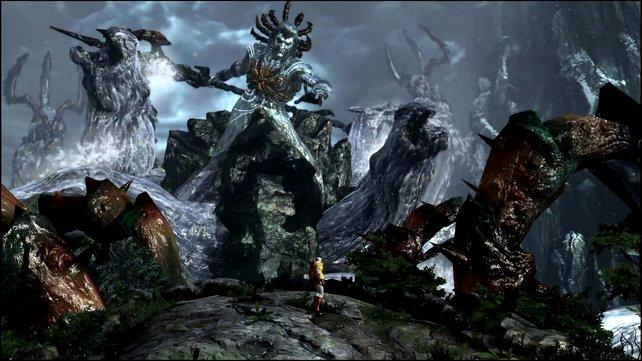 Der wütende Poseidon ist nur eines von vielen Racheopfern von Kratos.