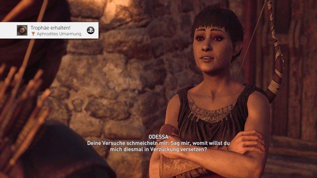 Die erste Romanze bei Assassin's Creed – Odyssey: Odessa
