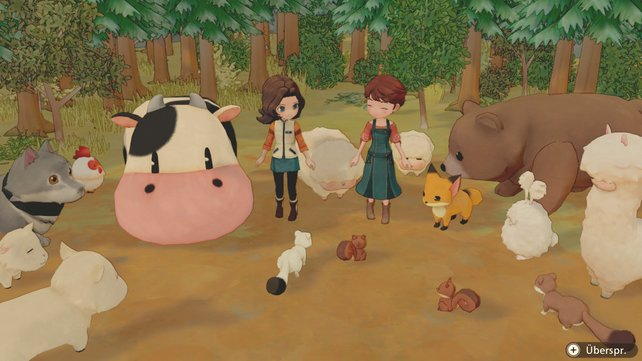 Olivingen behaust eine Vielzahl an Tieren. Darunter auch allerlei an Nutztieren wie Kühe und Kaninchen!