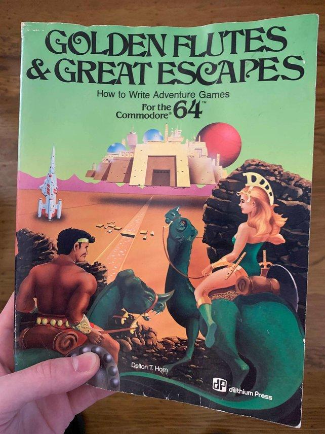 Mit diesem Buch erstellte der damals zwolfjährige Spieler das RPG.