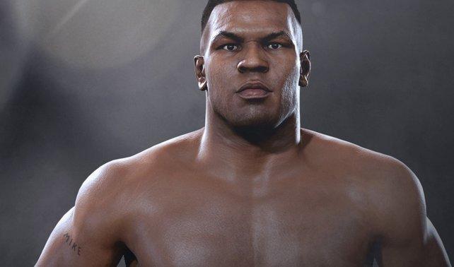"""Auch """"Iron Mike"""" ist bereit für die Trophäen und Erfolge in UFC 2."""