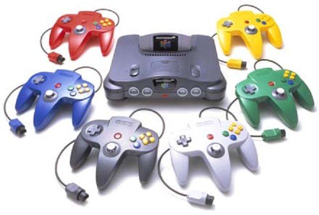 Die farbigen Controller des N64 sind damals noch fast ein Alleinstellungsmerkmal für die Konsole.