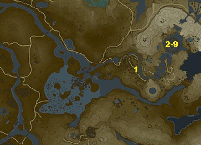 Ihr wollt alle Nebenquests am Ranelle-Turm finden? Dann wird euch diese Karte mit Fundorten helfen.