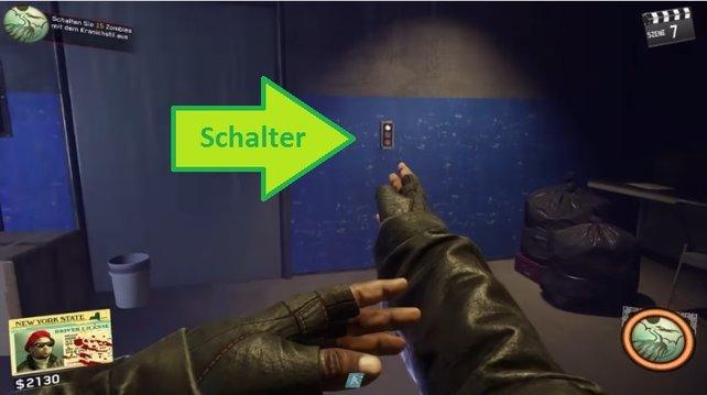 Für Doppel-Pack-a-Punch müsst ihr diesen Schalter mit Viereck bzw. der X-Taste aktivieren.