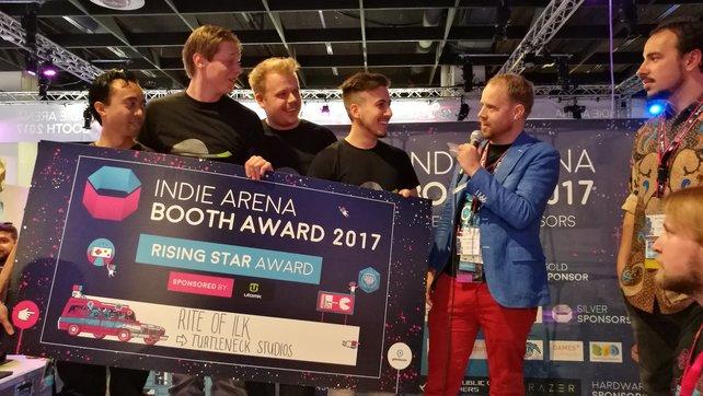 """Turtlenek Studios: Die Gewinner des """"Rising Star""""-Award 2017."""