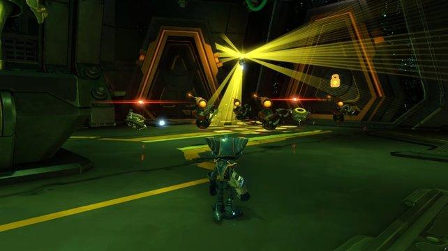 Die Waffen in Ratchet and Clank lassen eure Gegner tanzen.
