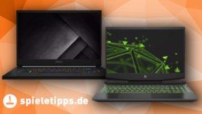 Gaming-Laptops von MSI und HP im Angebot