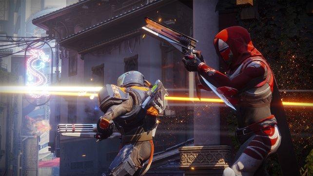 Ob im PvP oder im Kampf gegen KI-Feinde: Das Schießen fühlt sich in Destiny 2 auf dem PC ebenfalls hervorragend an.