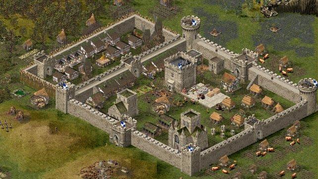 Strongholds ursprüngliche Wurzel - Atmosphärisch stark, eine Gemäldegrafik und ein guter Aufbau- und Schlachtenmix.