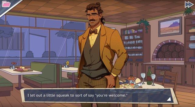 Als Lehrer kann Hugo seine Eloquenz nur schlecht verstecken.