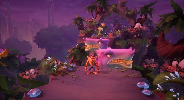 Die Urzeit-Welt in Dino Dash (Spiel befindet sich noch in Entwicklung)