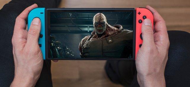 Werdet ihr in Zukunft auch Nemesis auf eurer Nintendo Switch herumtragen können?