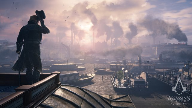 Ein Blick über die Themse offenbart die traurige Wahrheit: In London kommen Armut und industrielle Revolution schmerzhaft zusammen.
