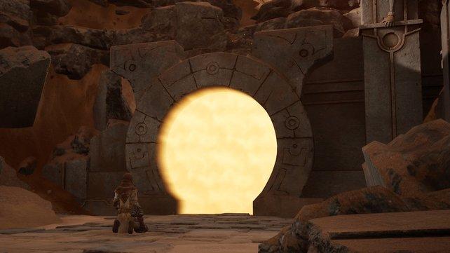 Ein Tor, das euch fremde Planeten besuchen lässt. Dies kommt euch sicherlich vertraut vor - aus Stargate.