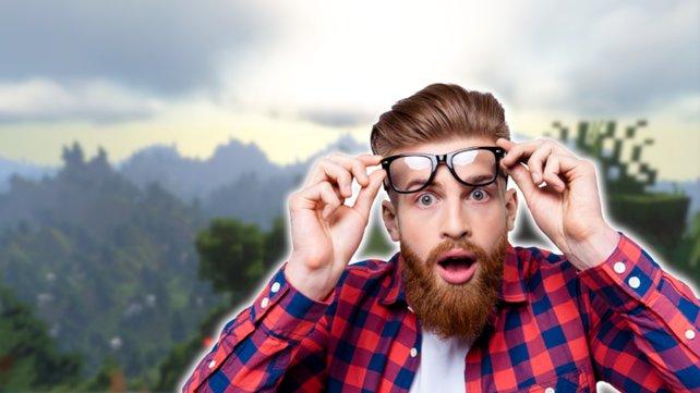Minecraft-Spieler können ihren Augen kaum trauen: Ein Video präsentiert eine fantastische Aussicht wie in Skyrim. Bildquelle: Getty Images/Deagreez.