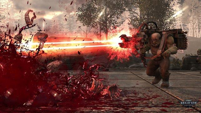 Im Regicide-Modus könnt ihr in einer extra Runde auf den Feind feuern.