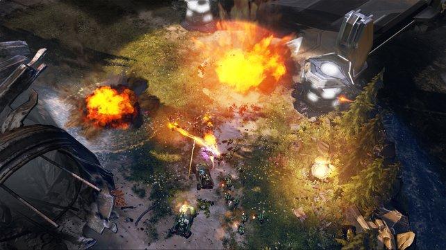 Dank der bunten Halo-Optik bleibt der Überblick erhalten.