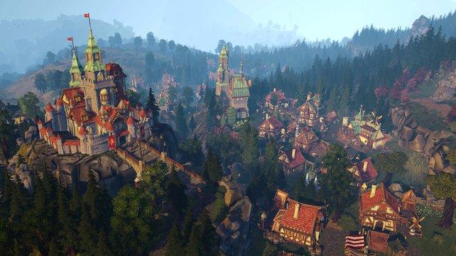 Eure Burg dient als Hauptquartier und Ort zur Herstellung von Rohstoffen.