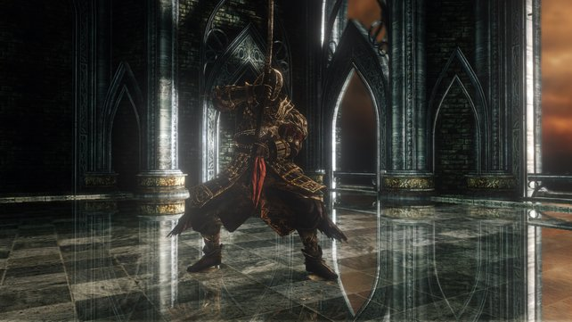 Sir Alonne in Dark Souls 2.