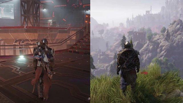 Mit der wilden Mischung aus Science-Fiction und Mittelalter kommt nicht jeder Spieler klar.