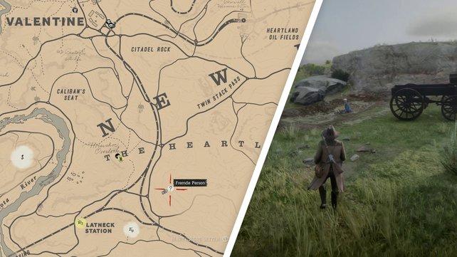 Die Karte zeigt euch den Standort von Deborah MacGuiness.