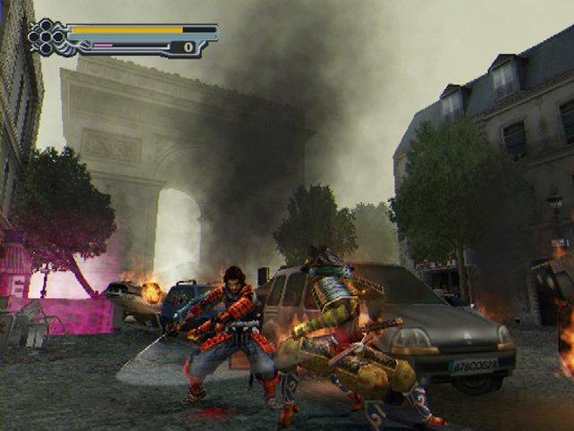 Ungewohnt aber effektiv: In Onimusha 3 findet ein Teil der Handlung im Paris der Gegenwart statt.