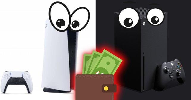 PS5 und Xbox SX könnten teuer werden. Bildquelle: Getty Images/Roman Bykhalets/Misha Shutkevych