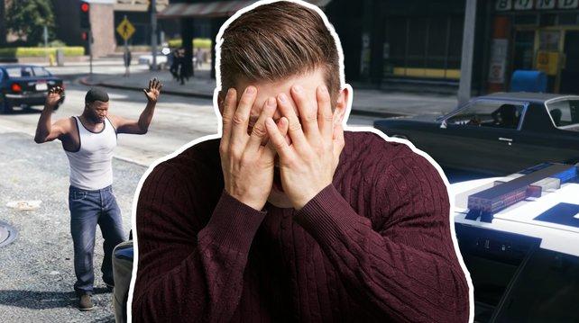 Die GTA-Cops im Verhaltenstest. Bild: Rockstar Games / Getty Images - monkeybusinessimages