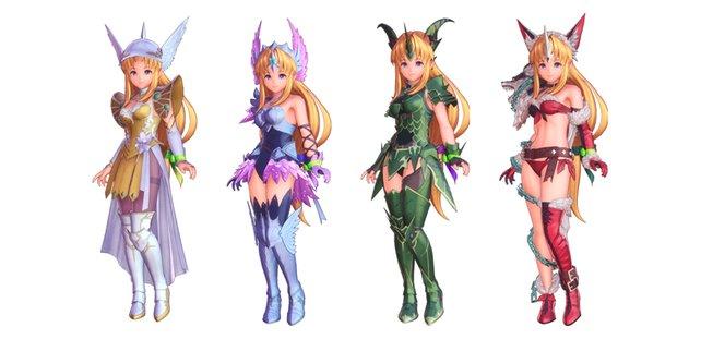 Resis Tier-3-Klassen von links nach rechts: Vanadis, Starlancer, Drachenmeister oder Fenrir-Ritter?