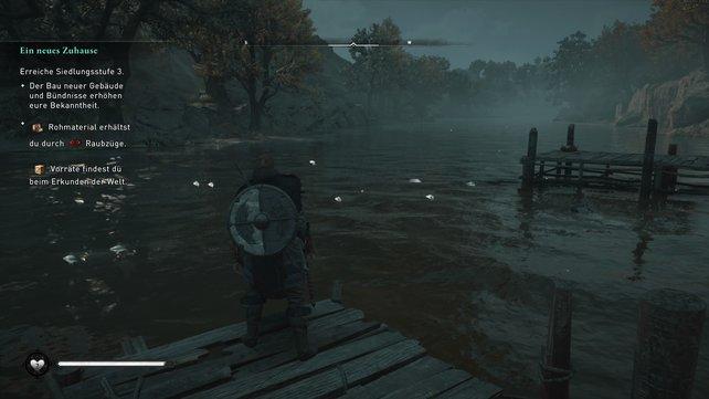 Eine Angelrute gab es zu der Zeit nicht, in der Assassin's Creed Valhalla spielt.