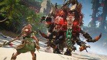 <span>Horizon Forbidden West:</span> Gameplay-Trailer zeigt Dino-Action auf der PS5