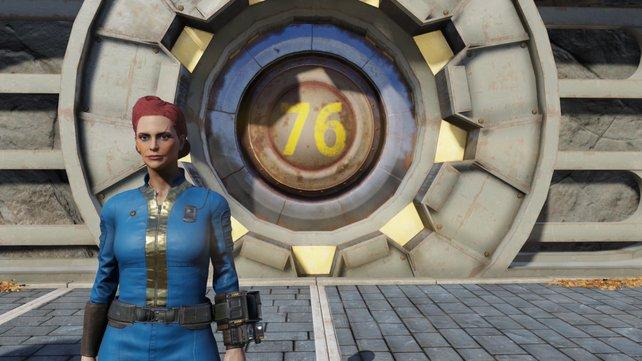Ihr müsst Fallout 76 nur spielen. Das Speichern übernimmt das Spiel für euch, seid also außerhalb des Vaults vorsichtig.