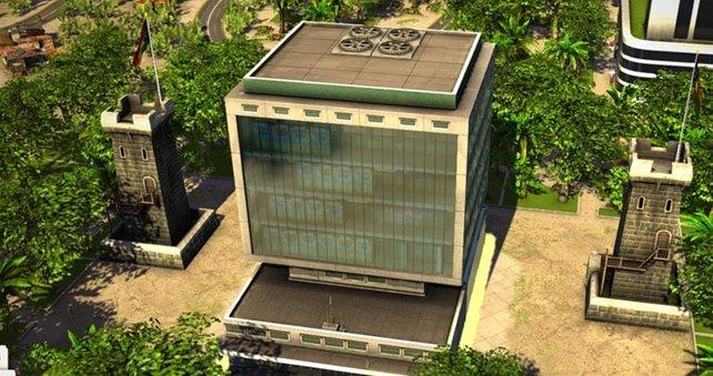 Die Form dieses Gebäudes dürfte vielen bekannt vorkommen.