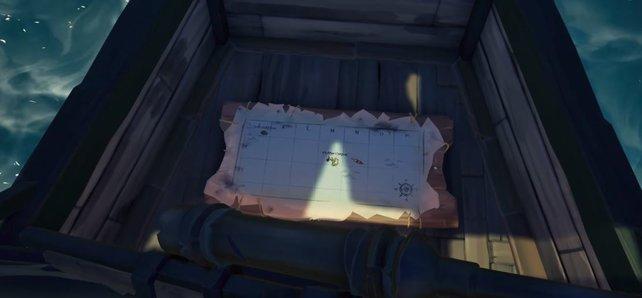 Ohne Karte kommt ihr in Sea of Thieves nicht weit.
