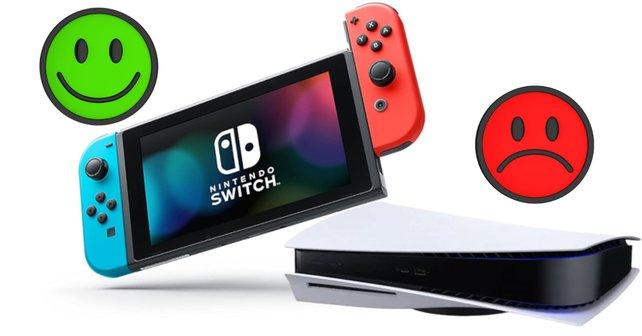 Kann die Switch die PS5 im Weihnachtsgeschäft besiegen? Bildquelle: Getty Images Nerthuz
