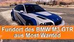 BMW M3 GTR - Fundort des stillgelegten Autos