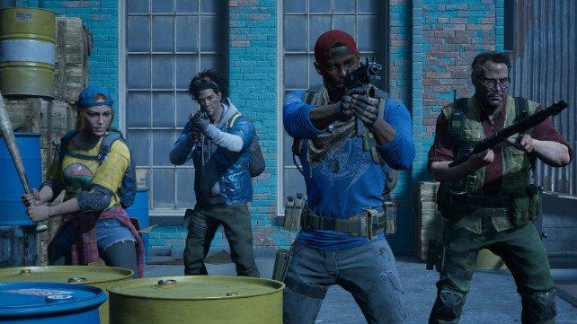 In Back 4 Blood könnt ihr mit drei Freunden gegen Zombies kämpfen.