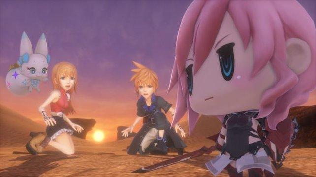 Aus Final Fantasy 13 weiß auch Lighting, wie wichtig Erfahrungspunkte sind.