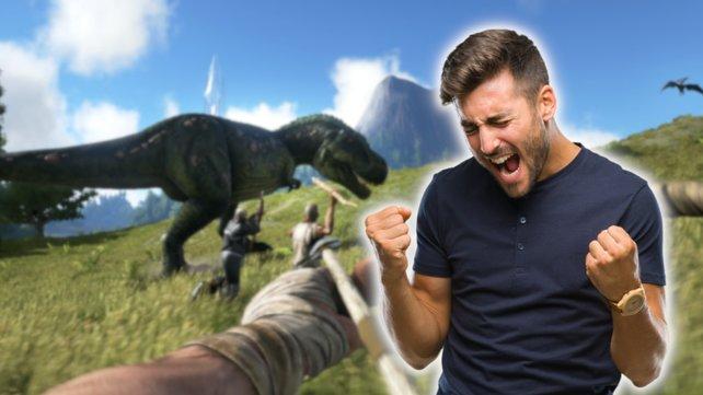 Ein Dino-Spiel auf Steam kämpft sich zurück in die PC-Charts. Bildquele: Getty Images/ AaronAmat