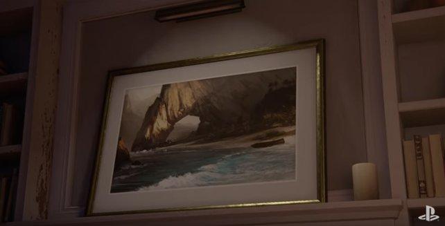 Um dieses Bild geht es in dem Trailer zu Uncharted 4 - A Thief's End.