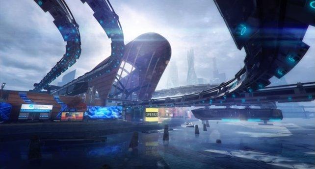Metro ist eine sehr futuristische Karte mit vielen akrobatischen Abschnitten.