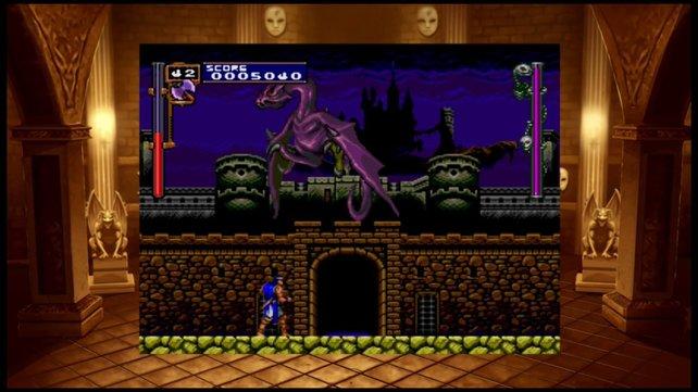 Hoffentlich lässt sich die Bildschirmansicht bei der PS4-Fassung von Rondo of Blood größer ziehen!