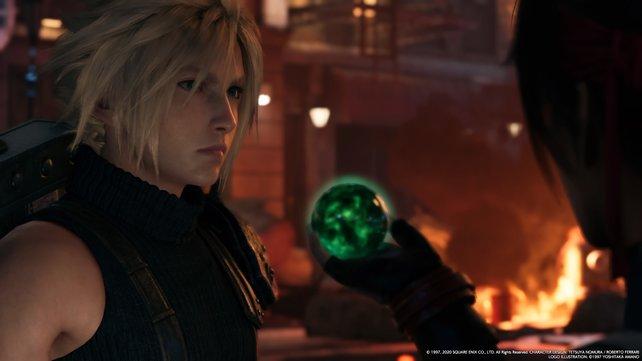 Haltet immer nach Materia-Kugeln Ausschau, mit denen ihr Fähigkeiten und Boni erhaltet.