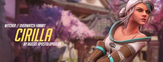 Panorama: So sähe Ciri als Overwatch-Charakter aus